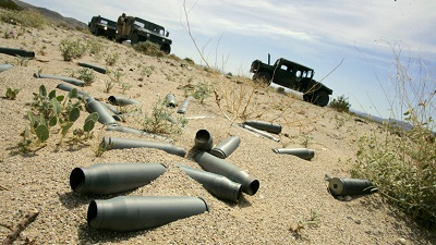Military Scrap Metal
