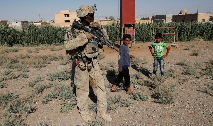 Syria Raqqa US