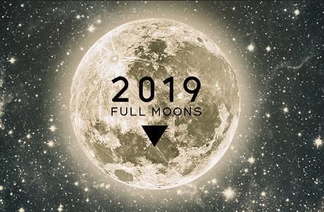 Moongiant 2019 Full Moon Calendar Bits And Pieces